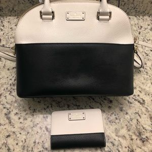 Kate Spade ♠️ purse with matching wallet